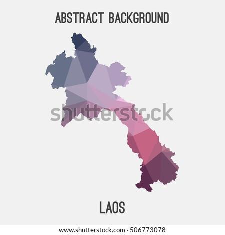 Zanzibar Pemba Island Political Map Semiautonomous Stock Vector - Laos map vector