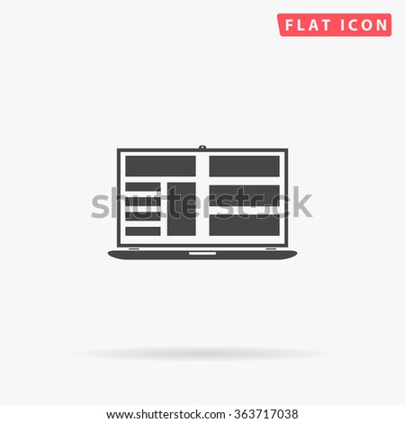 Laptop Icon Vector. Laptop Icon JPEG.  Laptop Icon Picture. Laptop Icon Image. Laptop Icon Graphic. Laptop Icon Art. Laptop Icon JPG. Laptop Icon EPS. Laptop Icon AI. Laptop Icon Drawing - stock vector