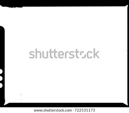 Large Format Film Sheet Negative Negative Stock Vector (Royalty Free ...