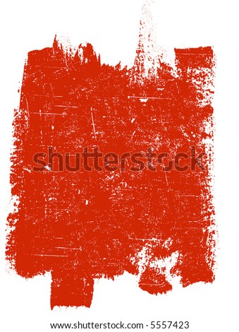 Large Grunge Square 4 - Highly Detailed vector grunge element