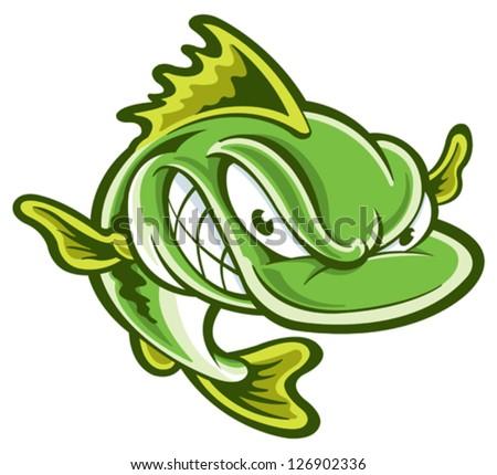 largemouth bass stock vector 126902336 - shutterstock