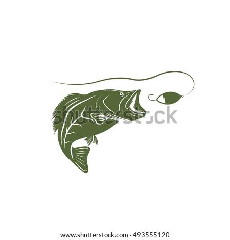 largemouth bass template - photo #10