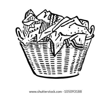 Laundry Basket Stock Photos Images Pictures Shutterstock