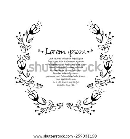 Laurel wreath - stock vector