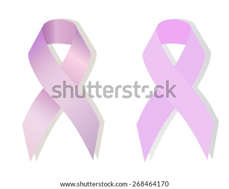 Lavender ribbon problem epilepsy, craniosynostosis, cancer awareness (all kinds) - stock vector