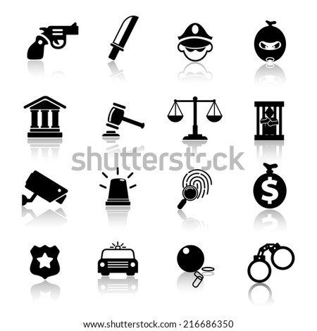 Law Icons Vector files.