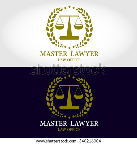 law firm crests logocrest lawyer logo stock vector 317635016 shutterstock