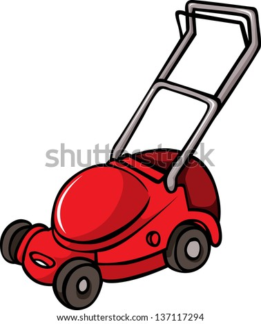 lawn mower vector - photo #26