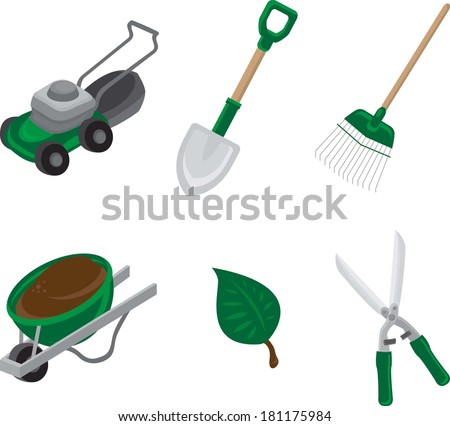 Landscaping Vector Landscaping green vector