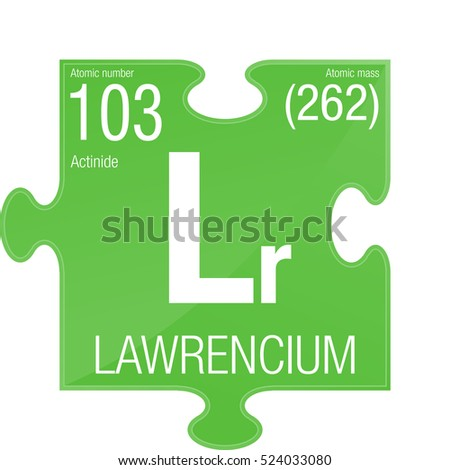 a study on the element lawrencium This lookup displays all the elements in the periodic table, sorted by symbol also included are the element name, atomic mass, atomic number, and electron configuration.
