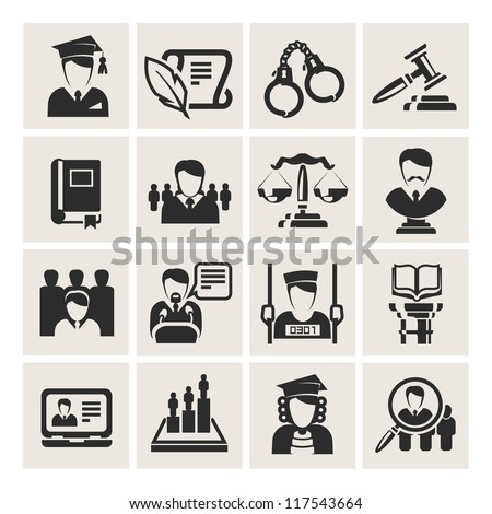 lawyer - stock vector