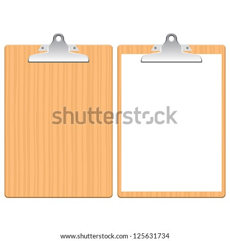 Layered vector illustration of Clipboard.