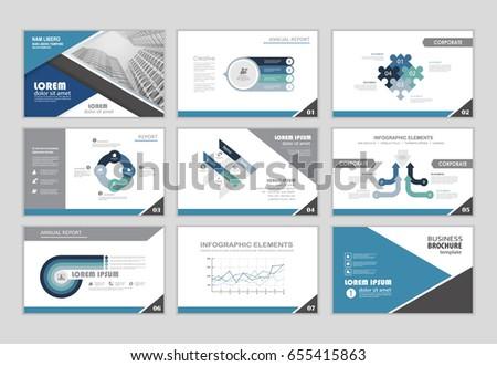 layout brochure design brochure template business stock vector, Template Presentation Brochure, Presentation templates