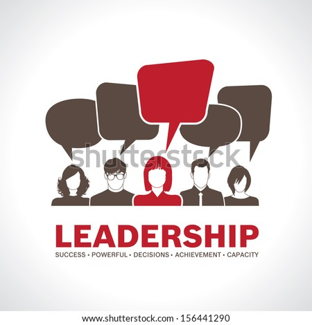 Leadership  - stock vector