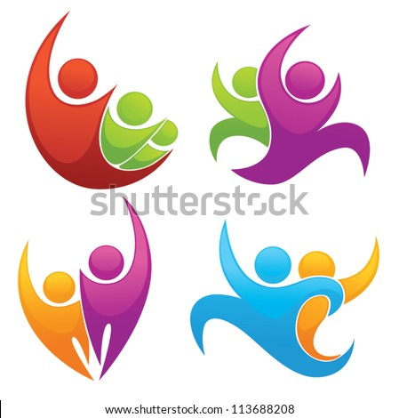 leadership and victory vector collection of symbols - stock vector