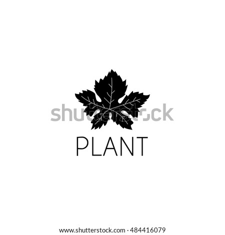 Leaf Logo Graphic Design Concept Editable Stock Vector 484416079 ...