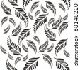 leaf modified pattern - stock vector