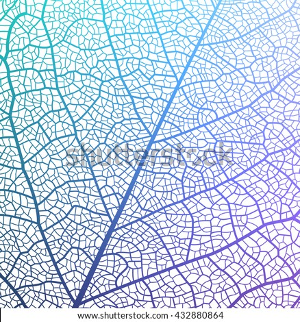 Leaf vector texture pattern.  - stock vector