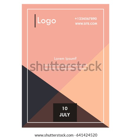 book cover template stock images royalty free images vectors shutterstock. Black Bedroom Furniture Sets. Home Design Ideas