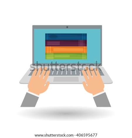 learning graphic design , vector illustration