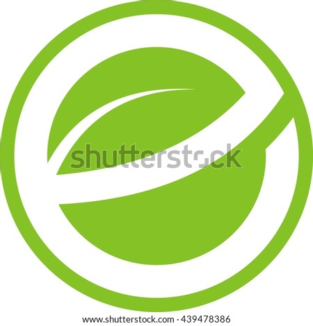 Leave letter e logo design stock vector 439478386 shutterstock leave letter e logo design thecheapjerseys Image collections
