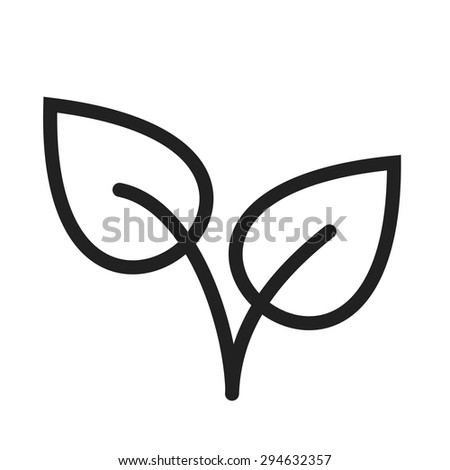 Leaves, plant, color icon vector image. Can also be used for summer, recreation and fun. Suitable for use on mobile apps, web apps and print media.