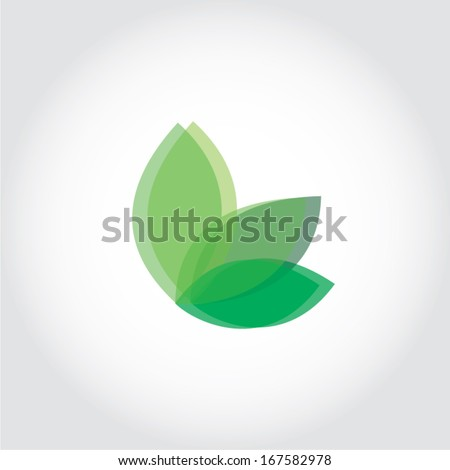 leaves vector - stock vector
