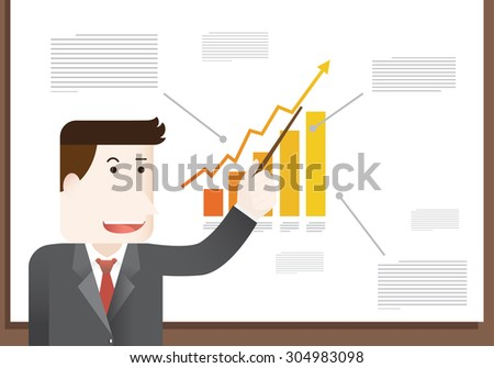 lecture - stock vector