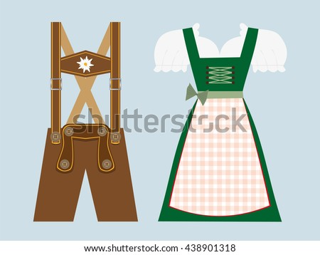German Clothes Stock Images Royalty Free Images Vectors Shutterstock