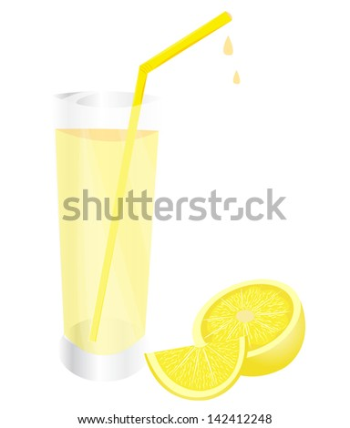 Lemon with juice