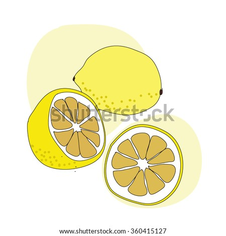 Lemon Drawing Stock Images, Royalty-Free Images & Vectors ...