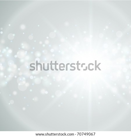 Lens flare vector background - stock vector