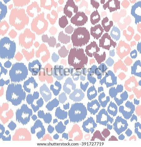 Leopard Print Animal Patterns Color Trend Stock Photo (Photo, Vector ...