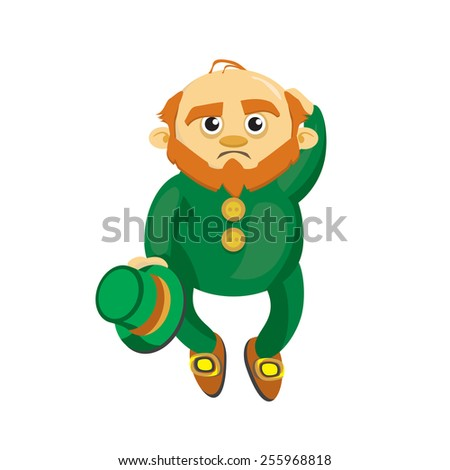 Vector Illustration Happy Cute Sloth Holding Stock Vector