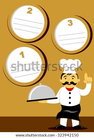 Let's Cook - stock vector