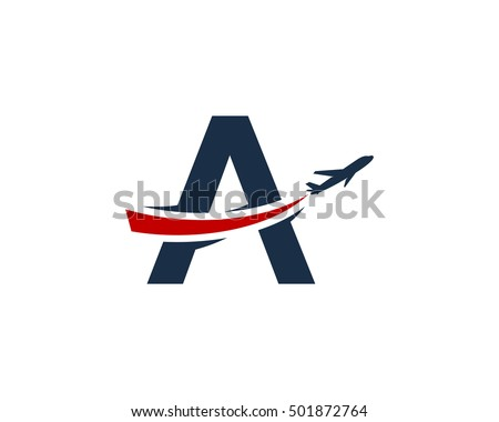Plane Logo Stock Images Royalty Free Images Vectors