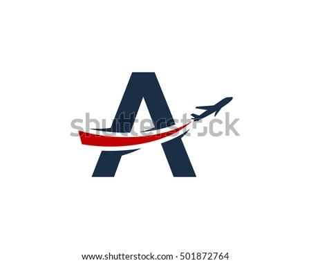 Plane logo stock images royalty free images vectors for Design a plane online