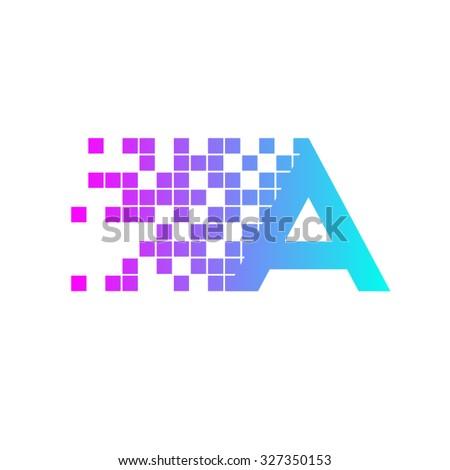 digital logo stock images royalty free images vectors shutterstock. Black Bedroom Furniture Sets. Home Design Ideas