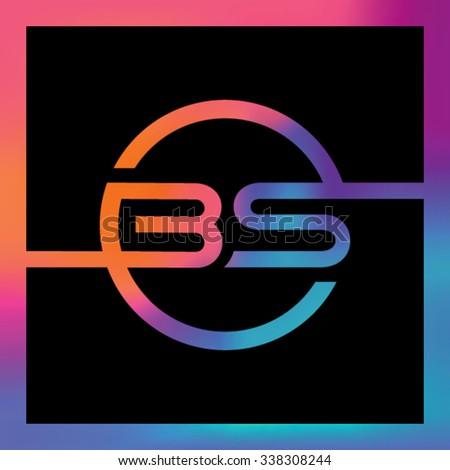 Letter B logo icon design template elements - stock vector