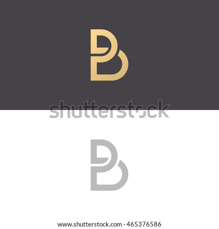 Letter b logo icon design template stock vector 465376586 letter b logo icon design template elements vector sign pronofoot35fo Image collections