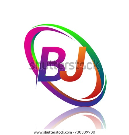 letter bj logotype design company name stock vector 730339930 rh shutterstock com bj logistics bj longo emerson hospital