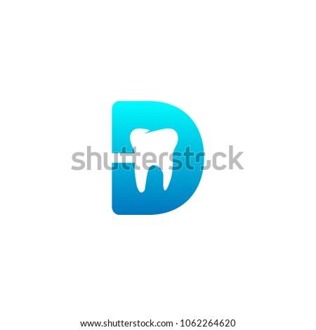 Letter D Logo Dental For Download