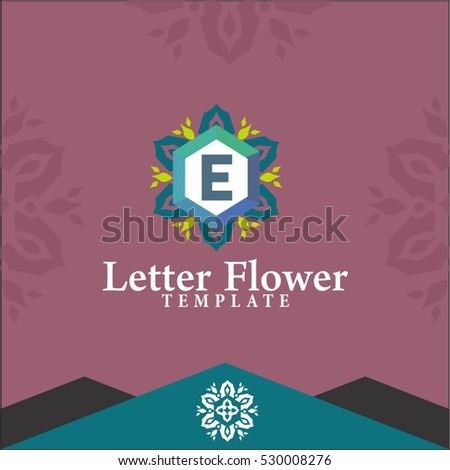 Letter e flowers logo design vector stock photo photo vector letter e flowers logo design vector for spa boutique beauty salon cosmetician thecheapjerseys Gallery
