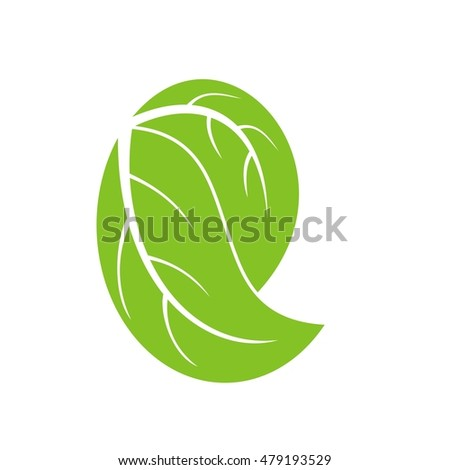 Letter e leave logo design stock vector 479193529 shutterstock letter e with leave logo design thecheapjerseys Image collections