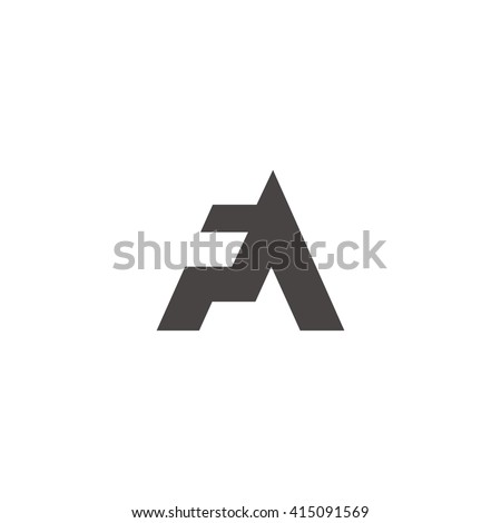 Letter fa logo stock vector hd royalty free 415091569 shutterstock letter fa logo thecheapjerseys Image collections