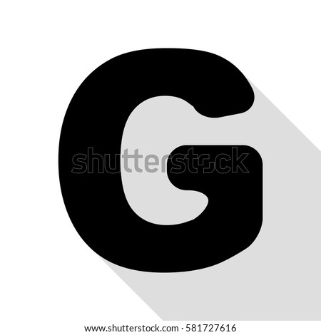 Letter g sign design template element stock photo photo vector letter g sign design template element black icon with flat style shadow path altavistaventures Choice Image
