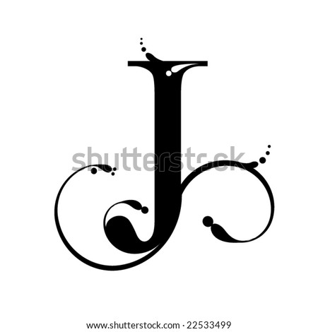 Letter J Stock Vector 22533499 - Shutterstock