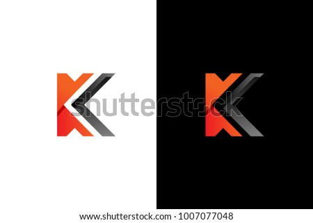 Letter k abstract logo template stock vector 1007077048 shutterstock letter k abstract logo template spiritdancerdesigns Choice Image