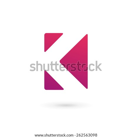 unusual logo...K Logo Design