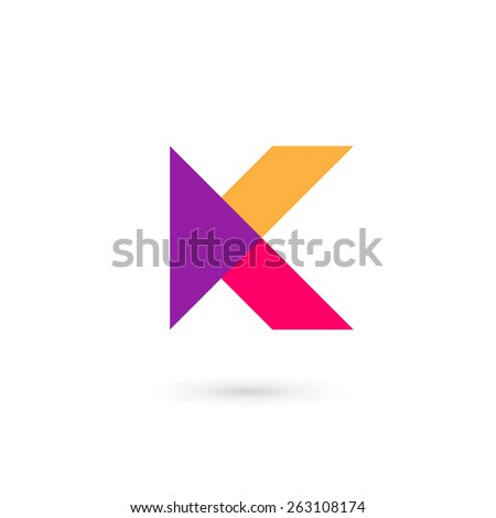 K Logo Images logo design template simple and clean flat design of letter k logo ...